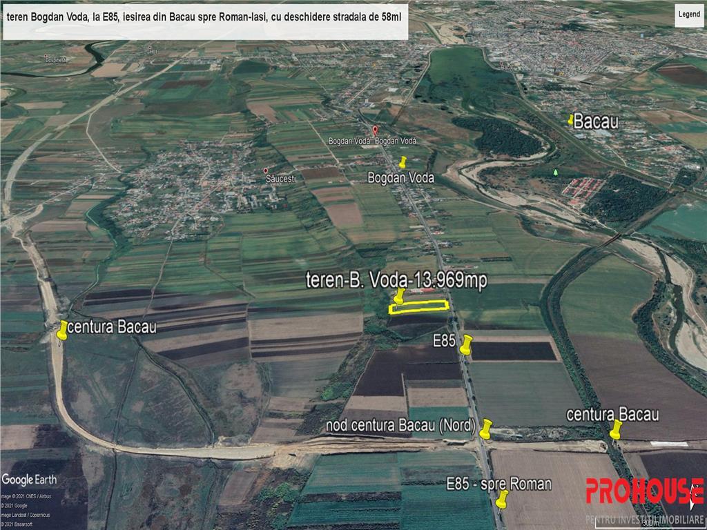E85  Bogdan Voda  stradal  intravilan