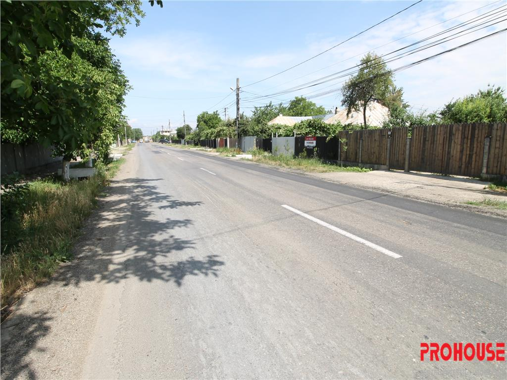 Letea Veche  teren 880mp  la strada principala