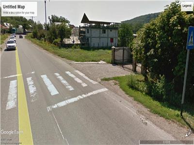 Valea Budului - teren intravilan - deschidere la DN