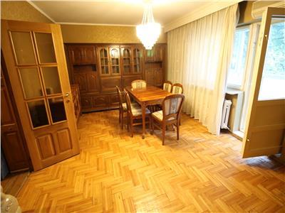 Bistrita Lac - bloc tip vila - chirie apartament 3 camere - mobilat