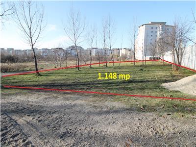 Stefan cel Mare - teren constructie bloc - 1.148 mp